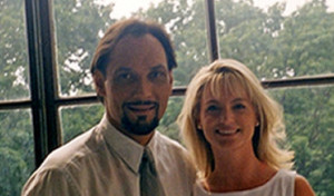 Ann with actor Jimmy Smits